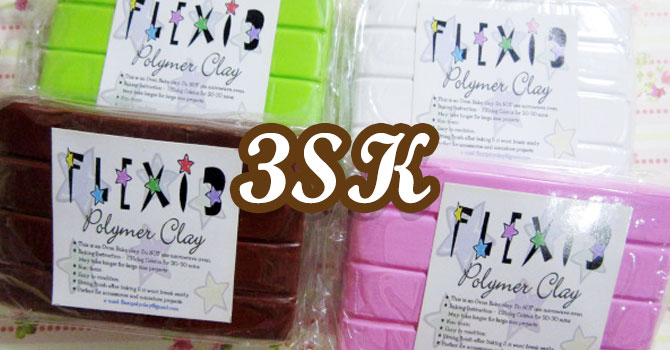 Flexi 3 Polymer Clay Review